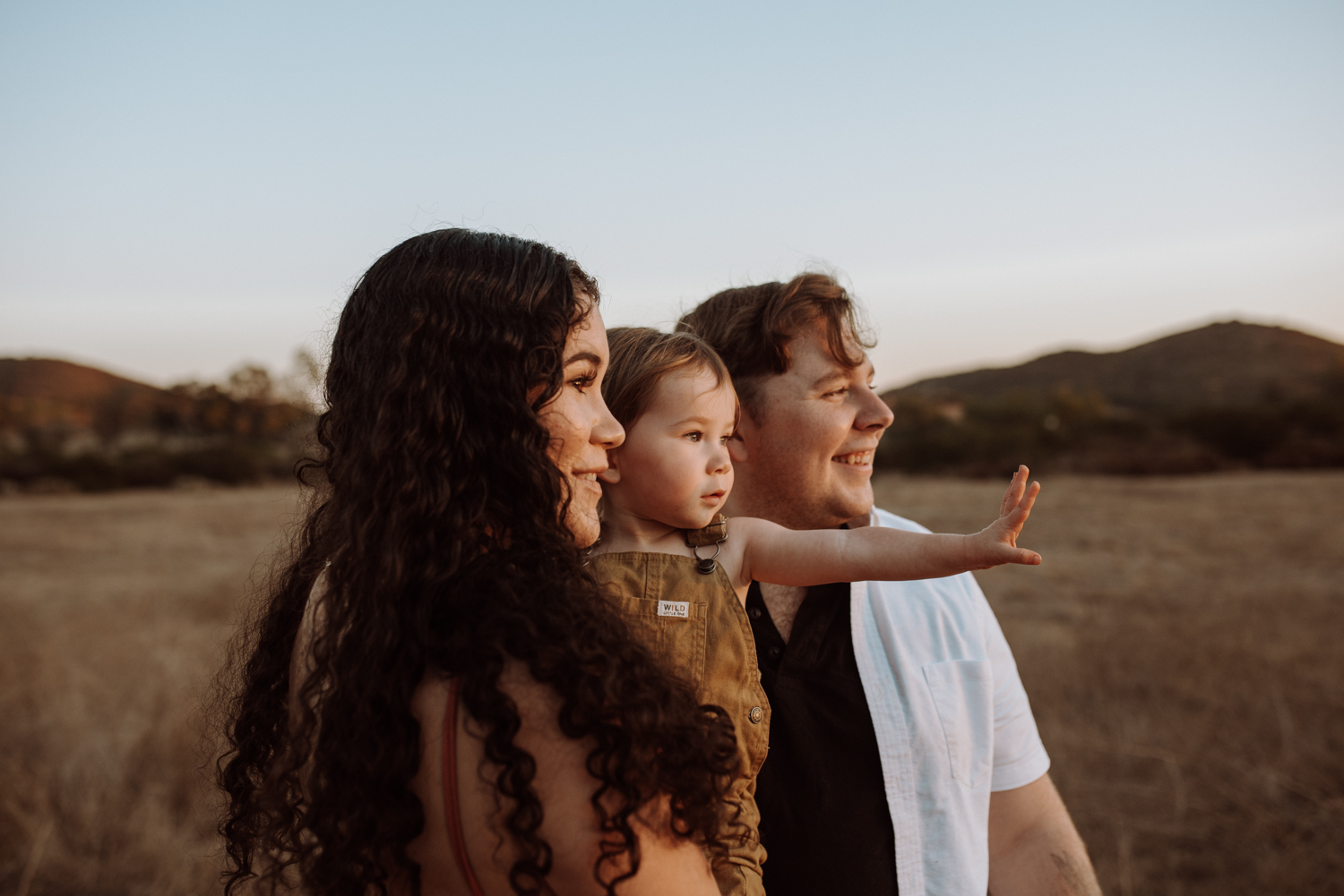 An edited photo of a family with the Portrait Lightroom Presets.